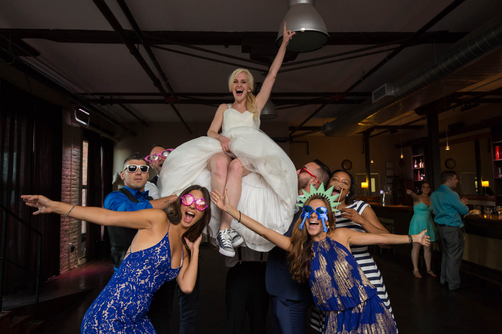 Allison and Anthony Espace Canal Montreal wedding – 030