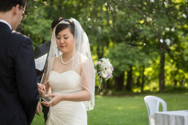 Korean wedding Cantley Quebec