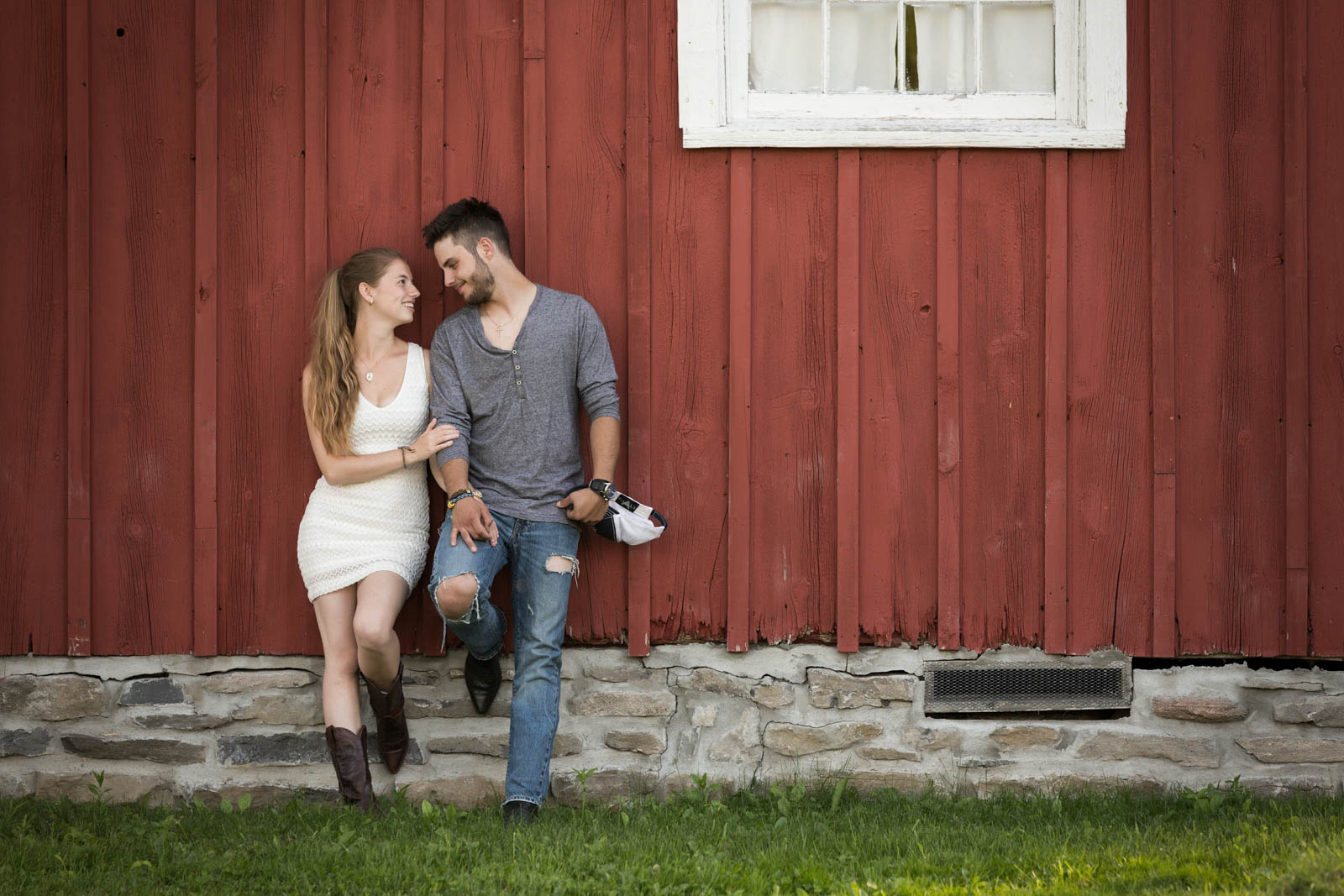 Glengarry Pioneer Museum engagement session, Dunvegan