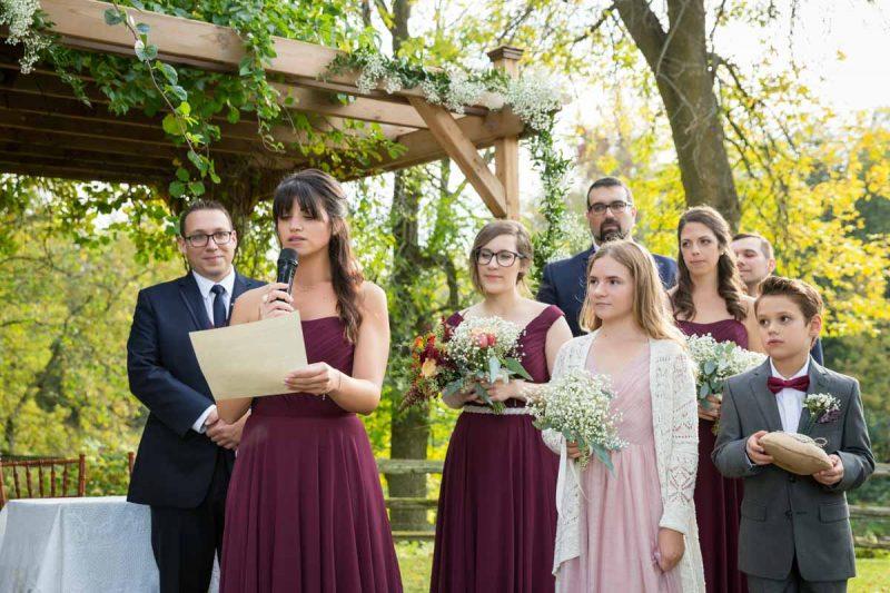 Pixelicious Erika and Simon Bergeries de l'Acadie wedding witness