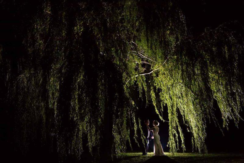Pixelicious Erika and Simon Bergeries de l'Acadie wedding silhouette