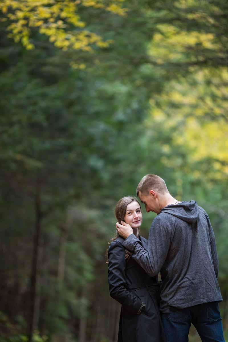 Pixelicious Gatineau Park engagement portraits