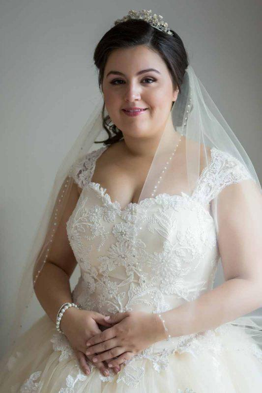 Pixelicious Megan and Raphael wedding bride preparation portrait
