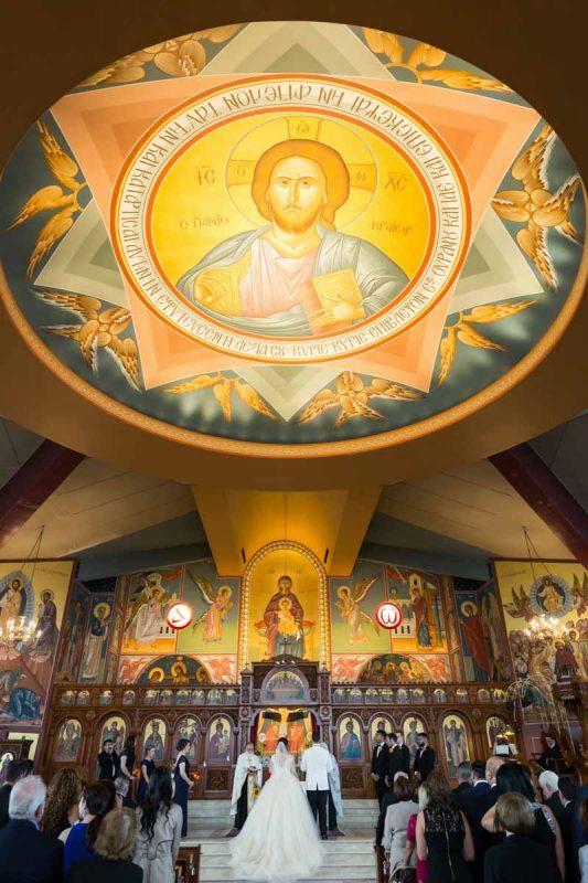 Pixelicious Evangelismos Tis Theotokou Greek Orthodox Church wedding ceremony