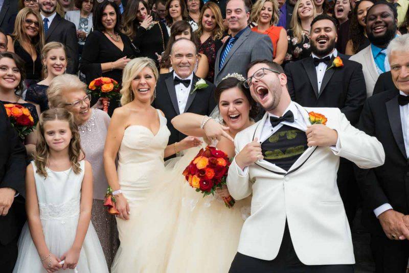 Pixelicious Evangelismos Tis Theotokou Greek Orthodox Church wedding ceremony group picture