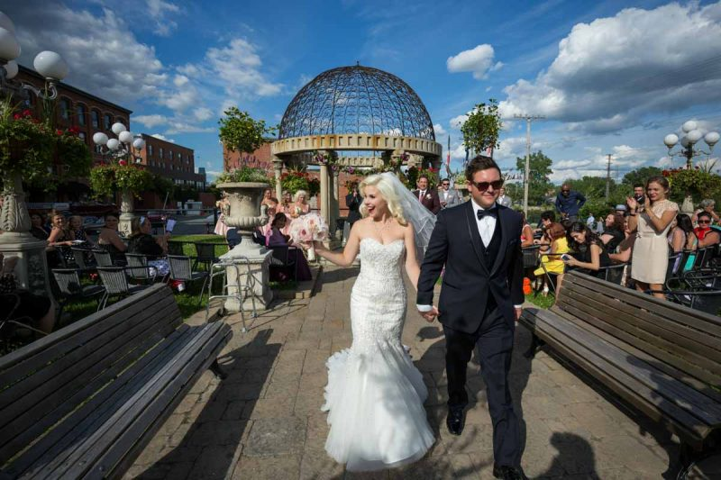 L'Ambroisie and Espace Canal Montreal wedding ceremony