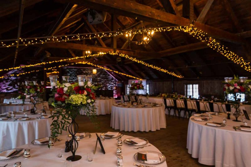 L'Auberge Saint-Gabriel old port wedding reception