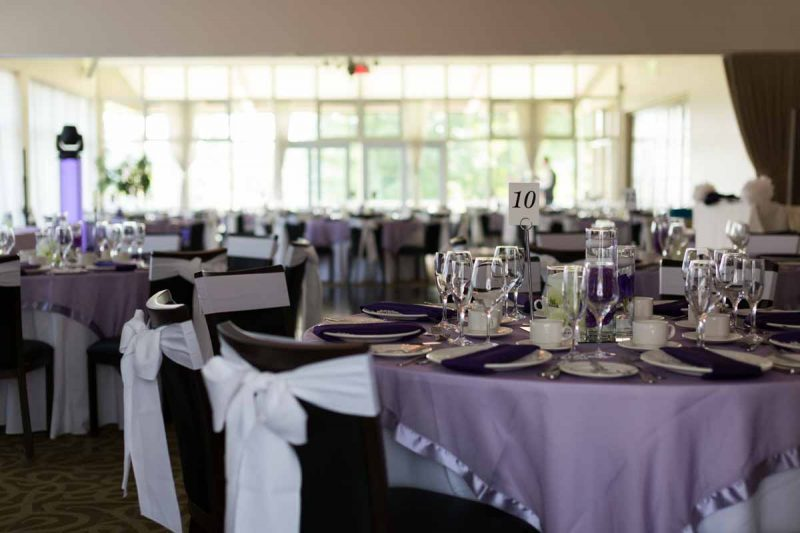 Whitlock golf wedding reception