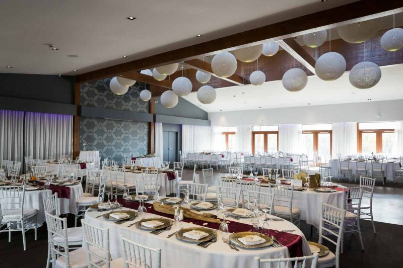 Auberge des Gallants wedding reception