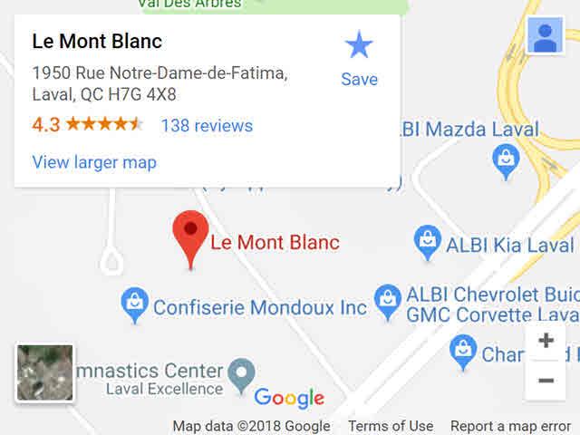 map - montblanc