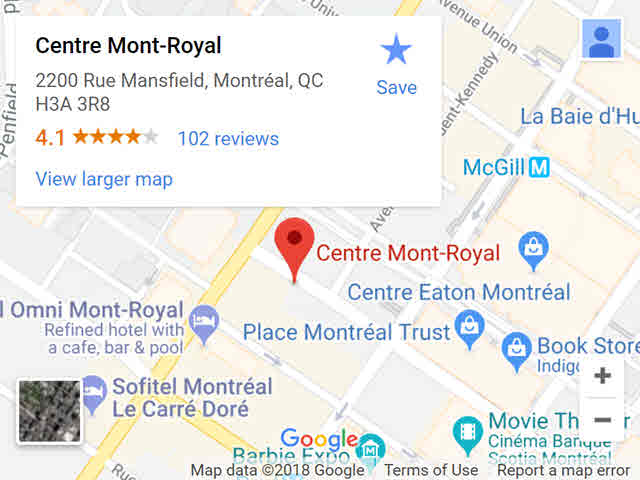 map - montroyal