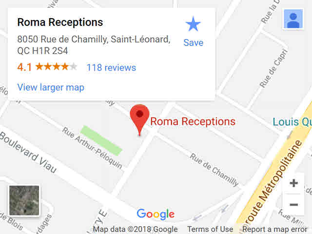 map - roma