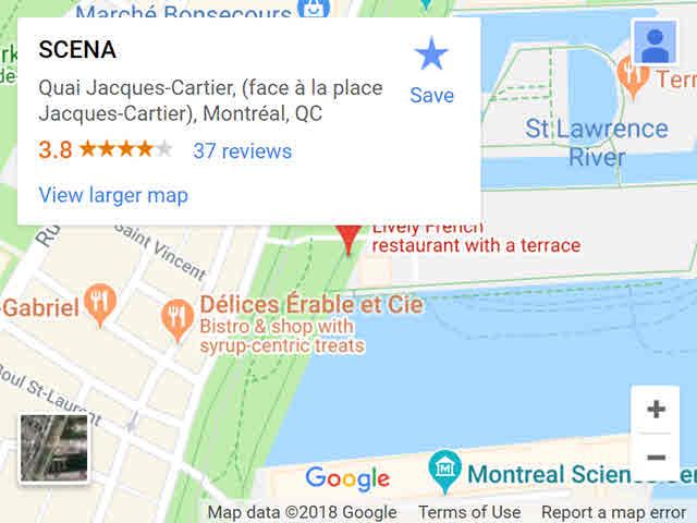 map - scena