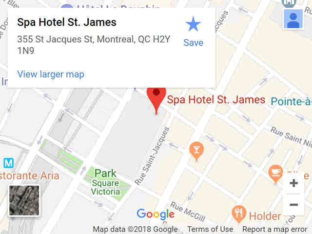 map - st-james
