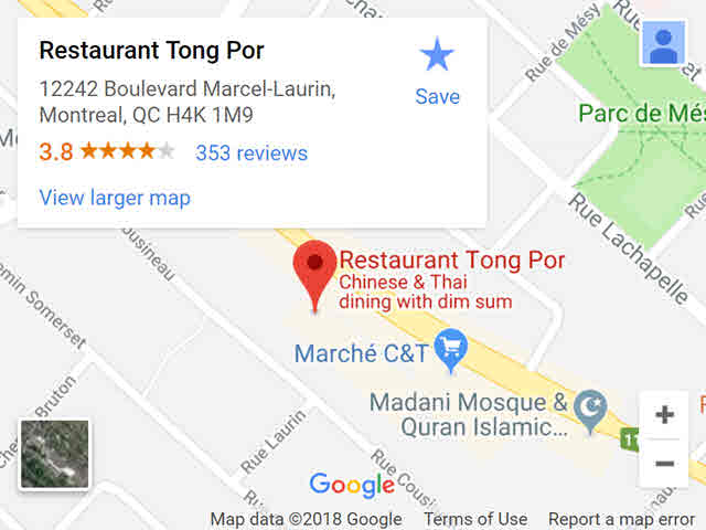 map - tongpor