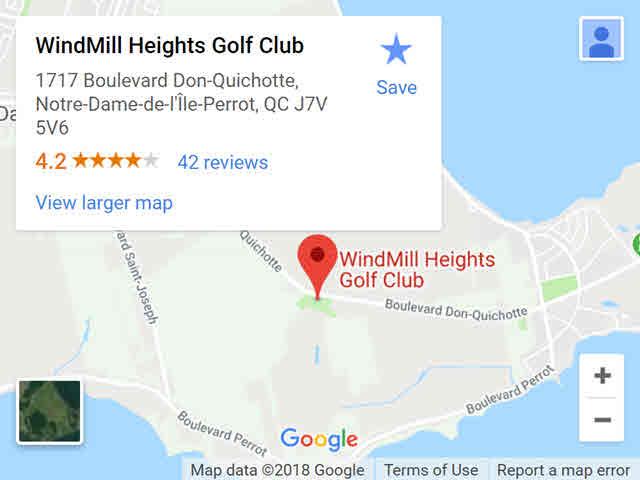 map – windmill
