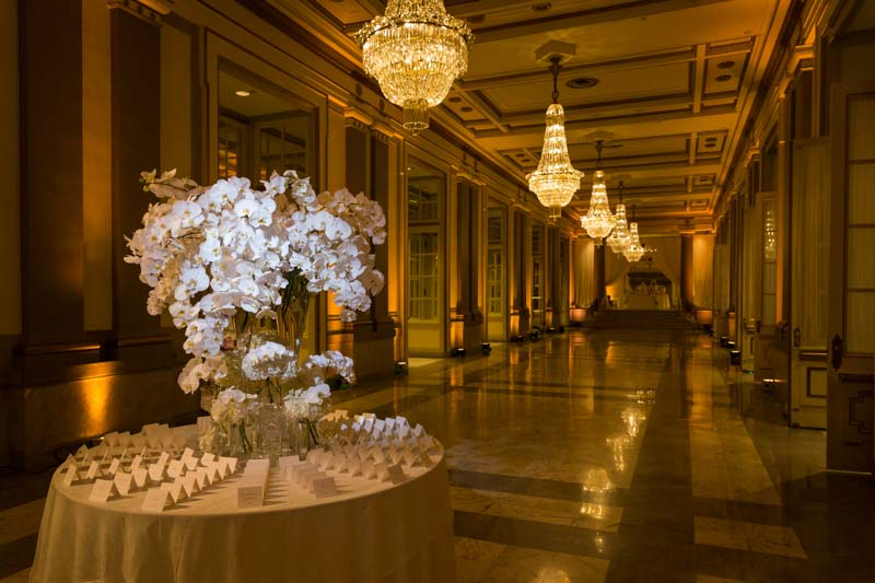 Opulent wedding venue
