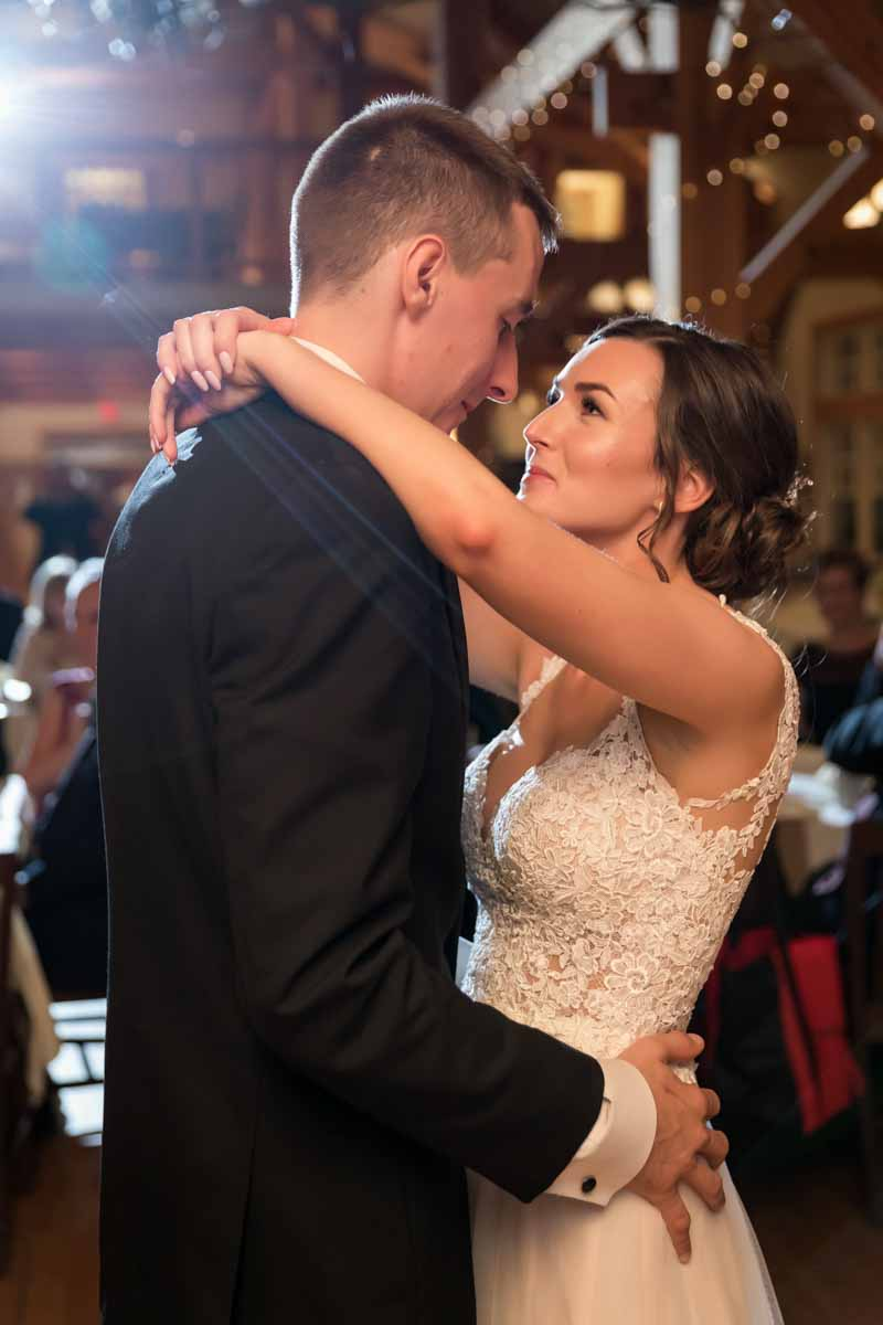 First dance at Temples Sugar Bush Ltd