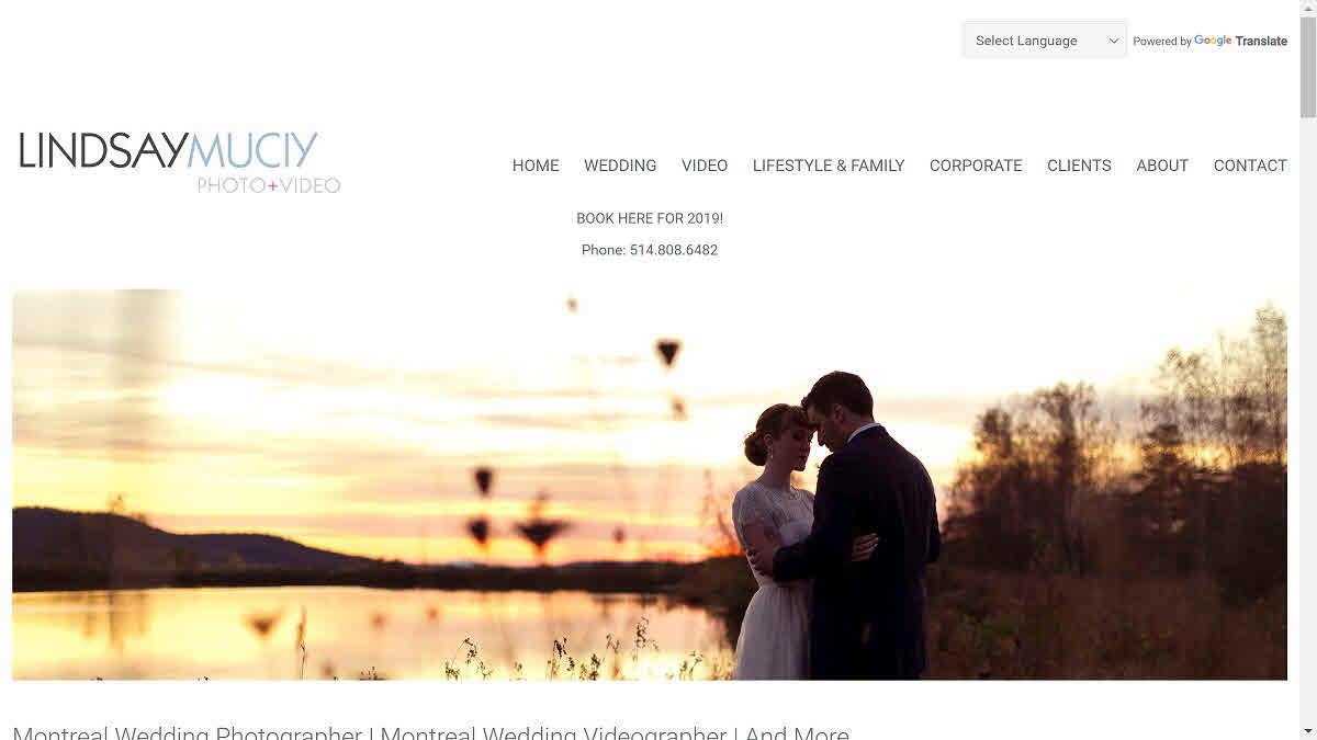 Lindsay Muciy – homepage