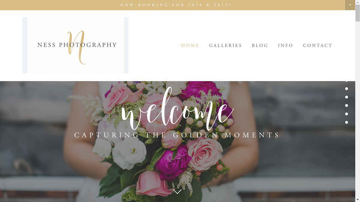 Ness Photography – homepage