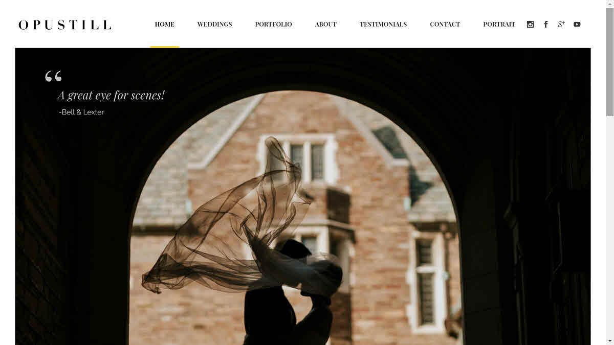 Opustill – homepage