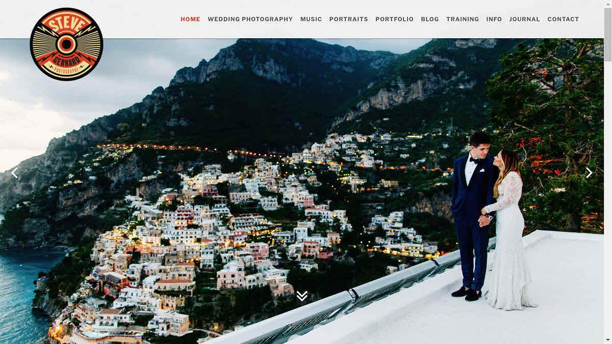 Steve Gerrard – homepage