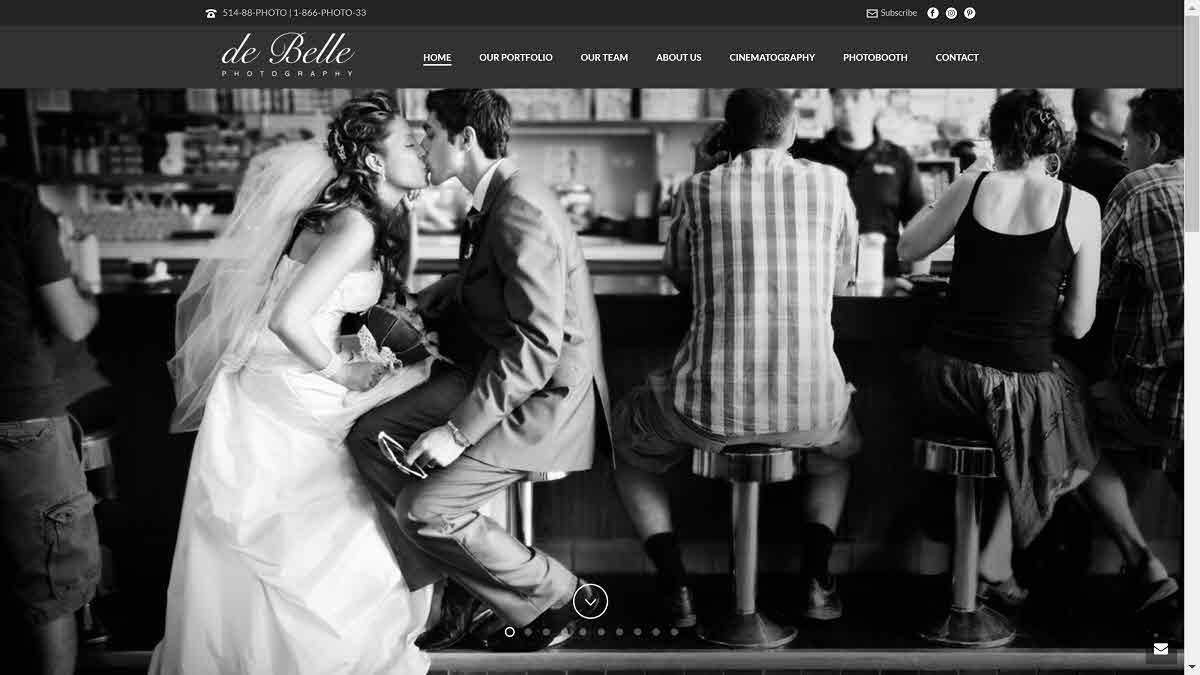de belle – homepage
