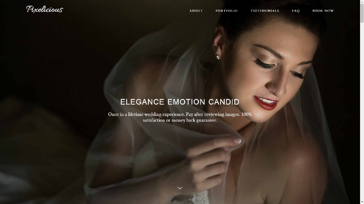 Pixelicious Wedding Photography Montreal new homepage